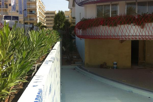 FLOOR COVERING AN AREA OF GROUND FLOOR OF BUILDING A LIFEMARINA IN IBIZA