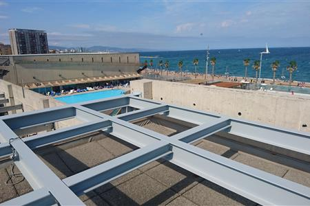 EVALUATION OF A METALLIC SUBSTRUCTURE IN THE CLUB NATACIÓ ATLÈTIC BARCELONETA