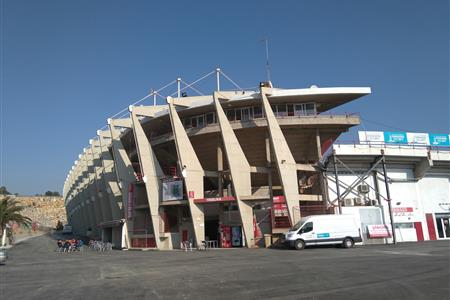 AN OPENING IN THE NASTIC STADIUM