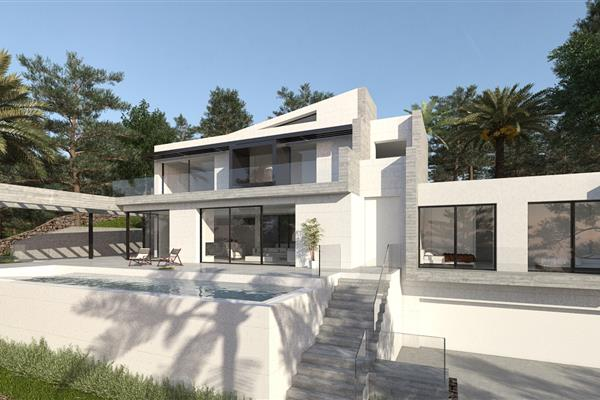 DETACHED HOUSE IN MORELL STREET, JÁVEA (ALICANTE)