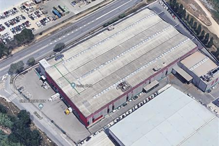 STUDY OF A WAREHOUSE FOR THE INSTALLATION OF SOLAR COLLECTORS IN THE PRAT DEL LLOBREGAT (BARCELONA)