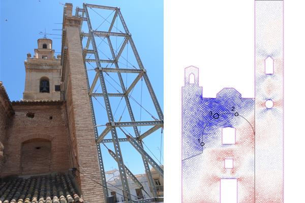 REPAIR AND STRENGTHENING OF THE CHURCH OF OUR LADY OF THE ANGELS OF SILLA (VALENCIA)