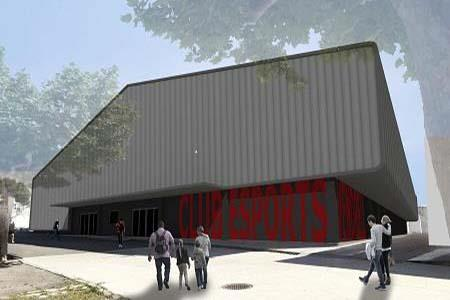 RÉNOVATION ET RÉAMÉNAGEMENT DU PAVILLON DU CLUB SPORTIF D'EL VENDRELL (TARRAGONE)